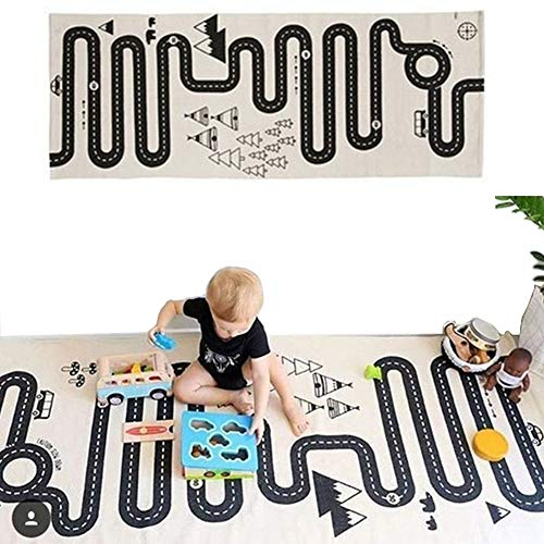 May Lucky Funny Newborn Baby Infant Blankets Tapestries Kids Floor Adventure Racing Games Carpet Baby Crawling 3 Style