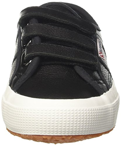 Superga Unisex-erwachsene 2750-efgl3velu Low-top Nero (blackwhite)