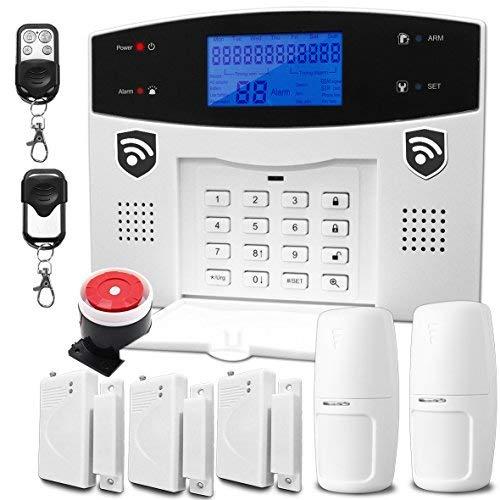 Alarma Inalambrica Hibrida Casa Seguridad Inteligente gratis (AWL99A-5)