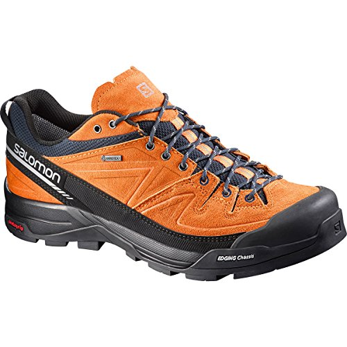 Salomon Mens X Alp Leather Gore-Tex Trail Laufschuhe - AW17 - 48