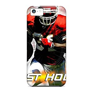 Shock Absorption Hard Phone Case For Iphone 5c With Provide Private Custom High Resolution Kansas City Chiefs Pictures TimeaJoyce