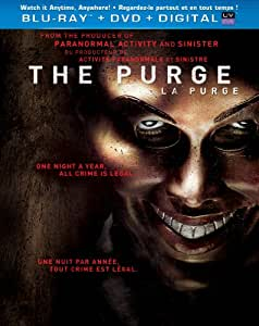 The Purge / La Purge (Bilingual) [Blu-ray + DVD + Digital Copy + UltraViolet]