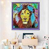 hello dpx 5D DIY Lion Diamond Painting Kit