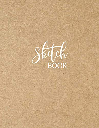 Sketch Book: Large Notebook for Drawing, Doodling or Sketching: 109 Pages, 8.5