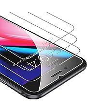 UNBREAKcable Cristal Templado iPhone 7 Plus 8 Plus [3-Pack] 9H Dureza Anti-ralladuras Protector de Pantalla para iPhone 7 Plus 8 Plus, Anti-Burbujas HD Vidrio Templado iPhone 7 Plus 8 Plus