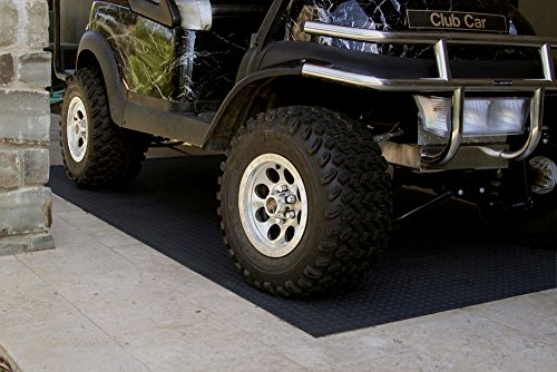 Auto Care Products 84200 Diamond Deck 2 Car Garage Kit with (2) 7.5' x 24' and (1) 5' x 24' Floor Mats, Black Textured by Auto Care (Image #5)