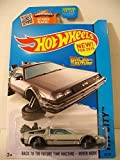 2015 Hot Wheels Hw City - Back To The Future Time Machine Hover Mode (New!)