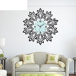 DHWJ Iron living room wall clock Simple creative modern clock-A 20inch