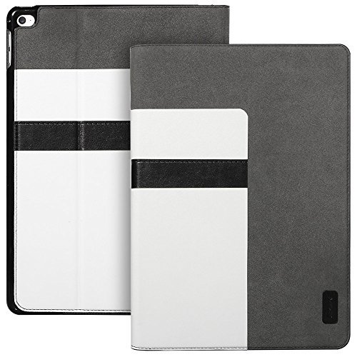 iPad Air 2 Case, ESR iPad Air 2 PU Leather Smart Cover Folio