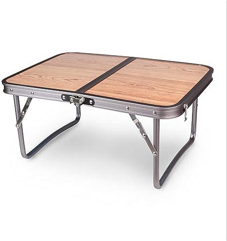 Mesa portátil plegable de deporte para acampar con acero ...