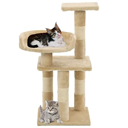 FESTNIGHT Árbol para Gatos Rascador con un Juguete Colgante ...