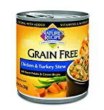 Nature's Recipe Grain Free Wet Dog Food, Chicken &...