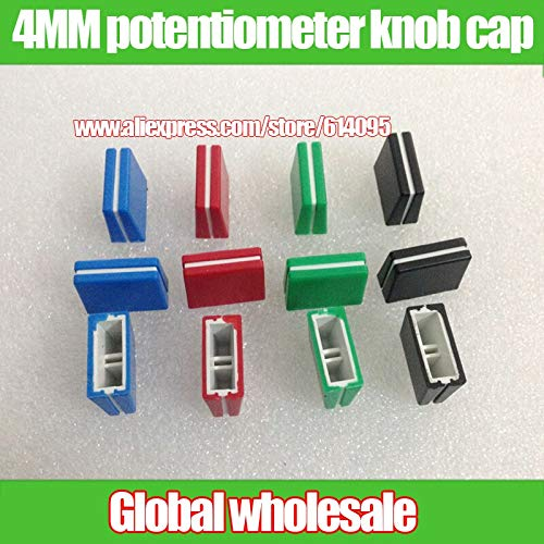 Amazon.com: Xinini 4pcs mixer potentiometer fader knob cap ...