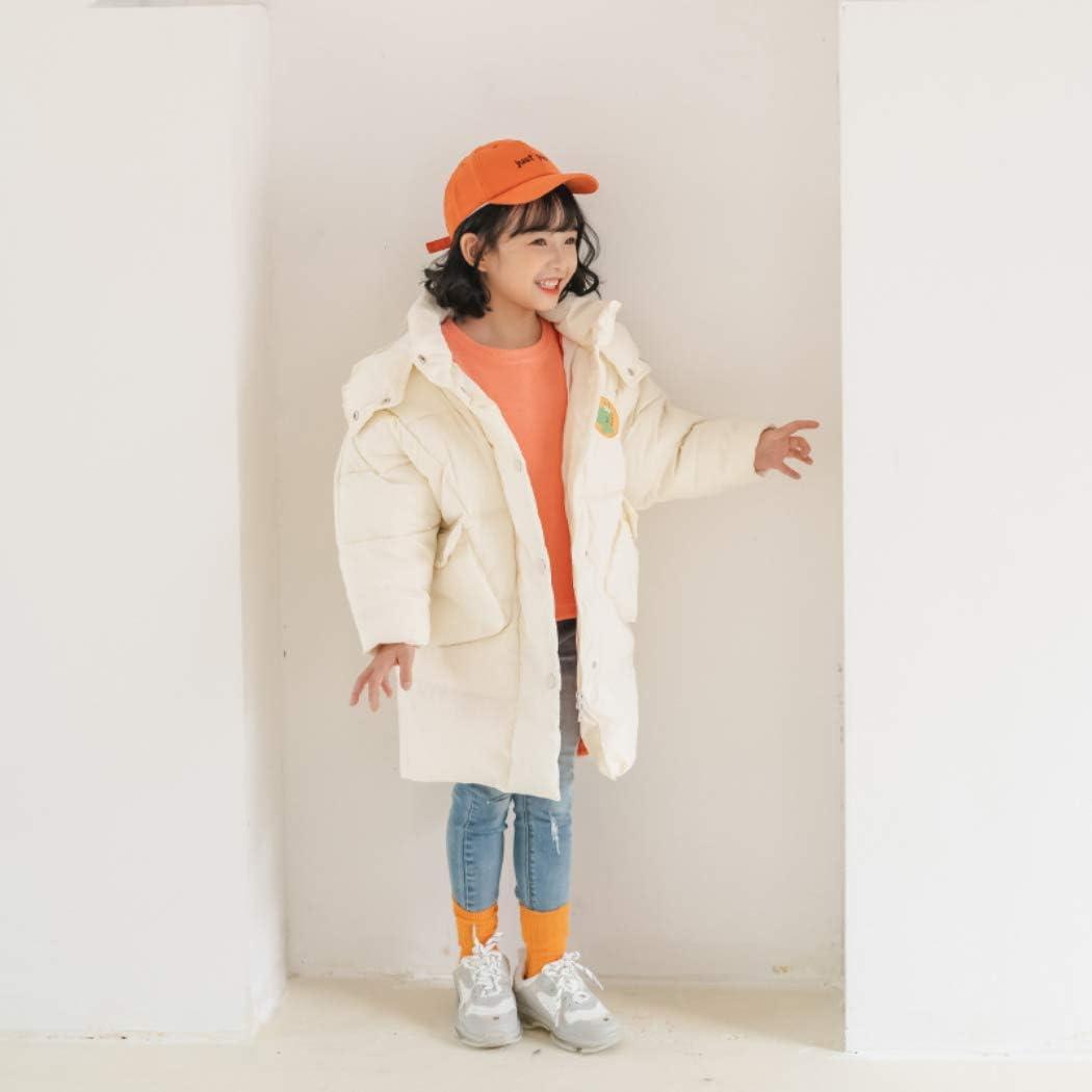 JIAJIAMIN Kid Girls Boys Winter Coat Mid-Long Ski Puffer Jacket Warm Snowsuit Down Jacket