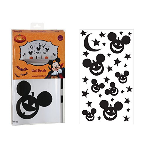Disney Jack-o-lantern Wall Stickers
