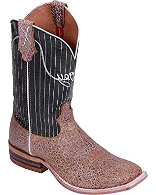 7f055f10ce6d2 Twisted X Men's Hooey By Pinstripe Cowboy Boot Wide Square Toe Camel ...