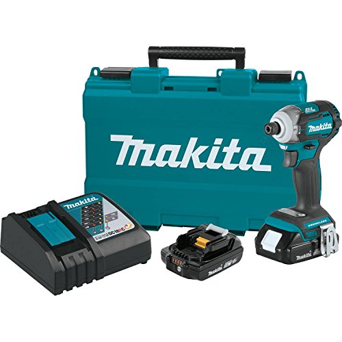 Makita XDT12R 18V LXT Lithium-Ion COMPACT Brushless Cordless Quick-Shift Mode 4-Speed Impact Driver Kit (2.0Ah)