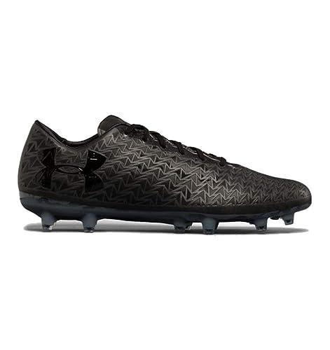 6333ba144 Under Armour Men s ClutchFit Force 3.0 Firm Ground - Limited Edition  Football Boots (1294508-001) (Black Black) (UK 13   EU 48.5   US 14   cm  32.0)  ...