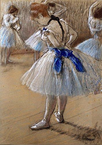 Edgar Degas: Dancer (Ballet/Ballerina). Fine Art Print/Poster. (29.7cm x 21cm)