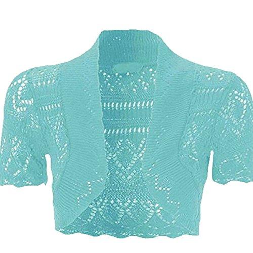 Sarcelle azul 21fashion mujer para turquesa vestido 7q0O0ZT