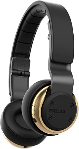 Munitio PRO30 Tactical Wireless Headphones, Gold
