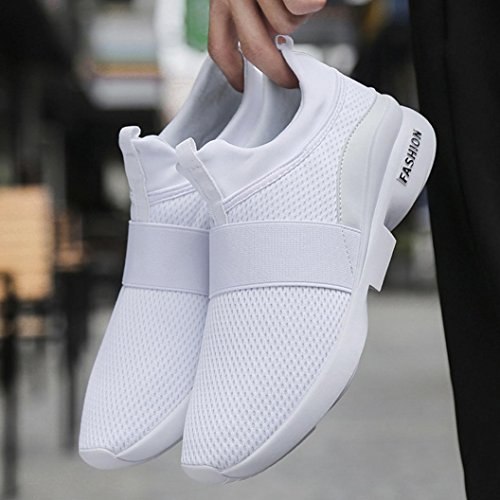Scarpe Scarpe da Leey Sneaker Uomo da Equipaggi Casual Scarpe 44 Uomo Running Running Scarpe Uomo Immersione Sneakers Bianco Ginnastica da Ginnastica 39 PnpxzpZwqC
