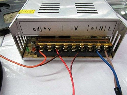 EPBOWPT 12V 30A Universal Regulated Switching Power Supply Driver for LED Strip Light CCTV Radio Computer Project by EPBOWPT (Image #7)