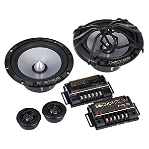 "Soundstream PC.6 6.5"" 120W 2-Way Picasso Series Car Component Speaker Set"