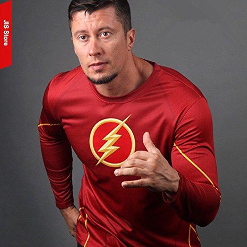 ... 16029 - Jersey T-Shirt Sports Lange Mit Hulse Mitteilung FÜR Wahl Flash- Mann