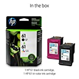 HP 61 | 2 Ink Cartridges | Black, Tri-color | CH561WN, CH562WN