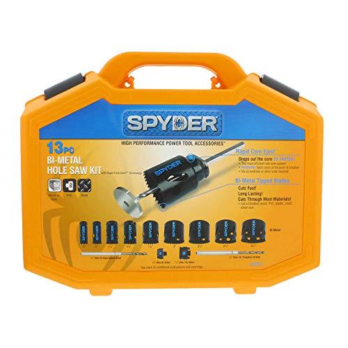 Spyder 600887 13 piece Bi-metal hole saw kit