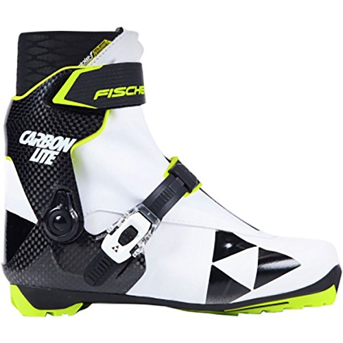 - Fischer Women's RCS Carbonlite Skate Boots White/Black - 38