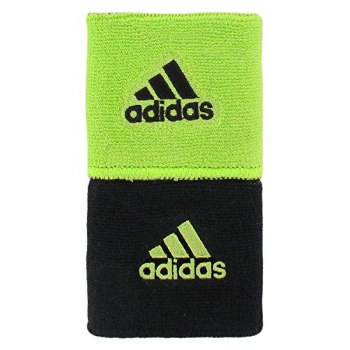 Adidas Interval muñequera Reversible, Negro (Slime/Black), Talla única