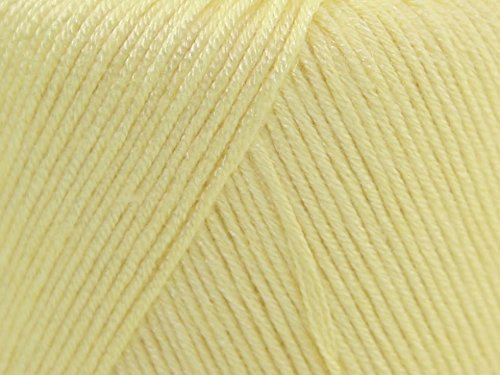 Sirdar Snuggly Baby Bamboo Knitting Yarn DK 116 Lemonade - per 50 gram (Sirdar Baby Bamboo)