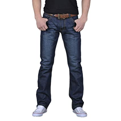 Gusspower Pantalones Vaqueros de Hombres Pantalones de ...