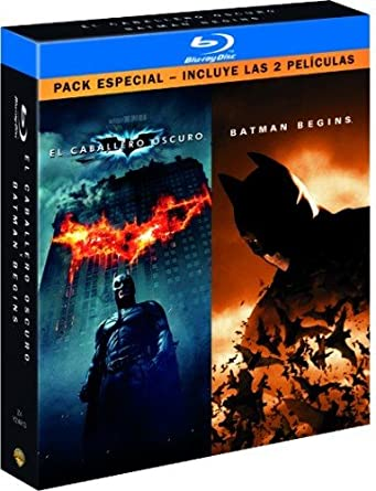 Caballero oscuro + Batman begins [Blu-ray]: Amazon.es: Varios ...