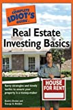 img - for The Complete Idiot's Guide to Real Estate Investing Basics book / textbook / text book