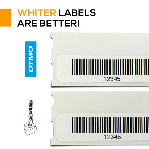 Dymo Compatible 30346 Multipurpose / Library Barcode Labels - 1/2
