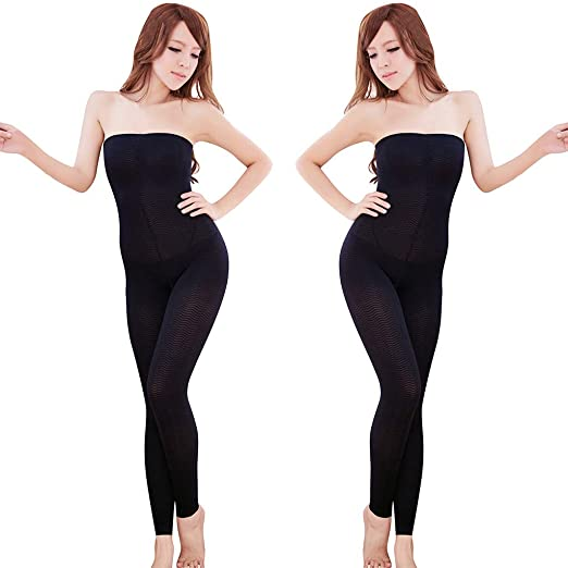 927eb72147 2019 Women High Waist Leg Shaper Pants Shapewear Thigh Slimmer Tummy  Sculpting Sleep Legging Bodysuit Socks