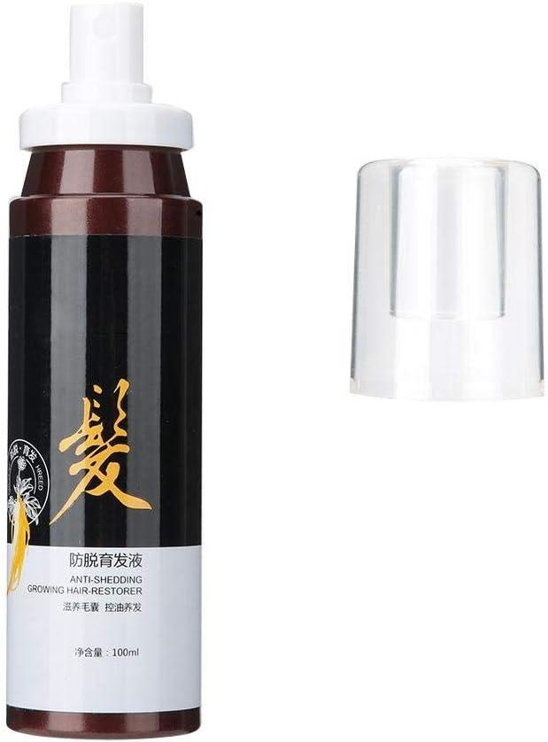 Polygonum Multiflorum 100ml Aceite de esencia para el crecimiento del cabello, extracto de hierbas, líquido para el crecimiento del cabello, tratamiento anticaída, herramienta para el cuidado del cabe
