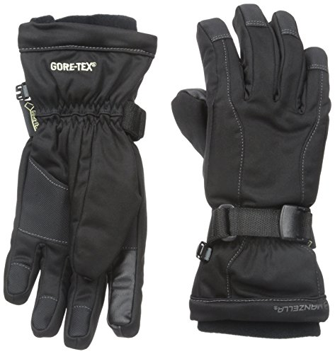 Manzella Women's GORE-TEX FAHRENHEIT 5 Touch Tip Gloves, Black, Large