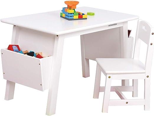 Folding table and chair Mesa para NiñOs De Madera Maciza, Mesa De ...