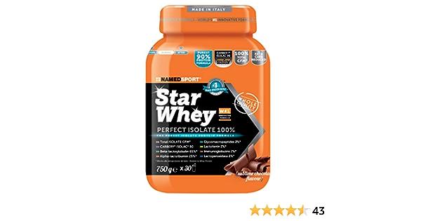 NAMED STAR WHEY 750 GR Cioccolato: Amazon.es: Salud y cuidado ...
