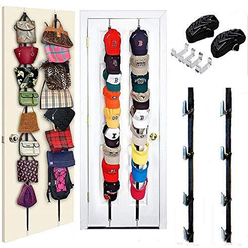 or Hanger Holder Hook Storage Organizer 32 Baseball Hats Visors ()