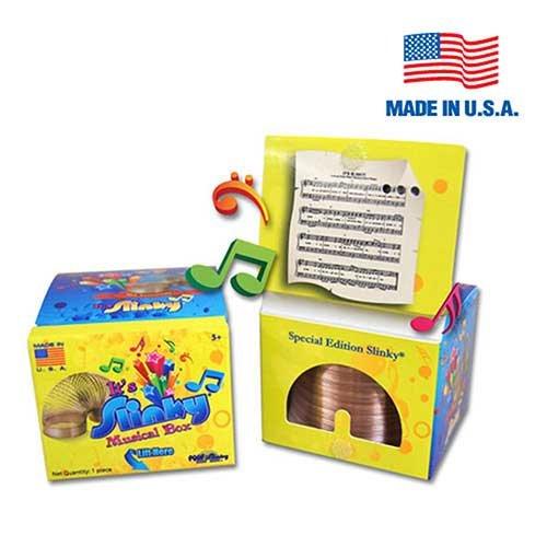 Original Slinky in Singing Musical Box by Slinky