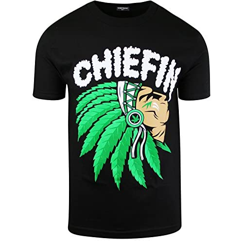 New Chief'n Mens Weed Shirt hot sale