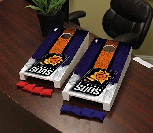 Victory Tailgate Phoenix Suns NBA Basketball Desktop Cornhole Game Set Vintage Version