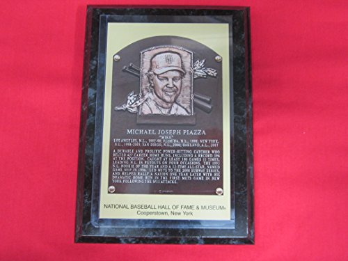 mike-piazza-2016-hall-of-fame-induction-postcard-plaque-new