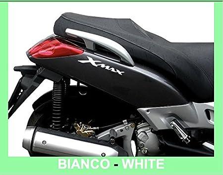 2/adhesivos de resina 3D con el texto /«XMAX/» para Scooter Labelbike accesorios Yamaha X Max Simil Carbonio
