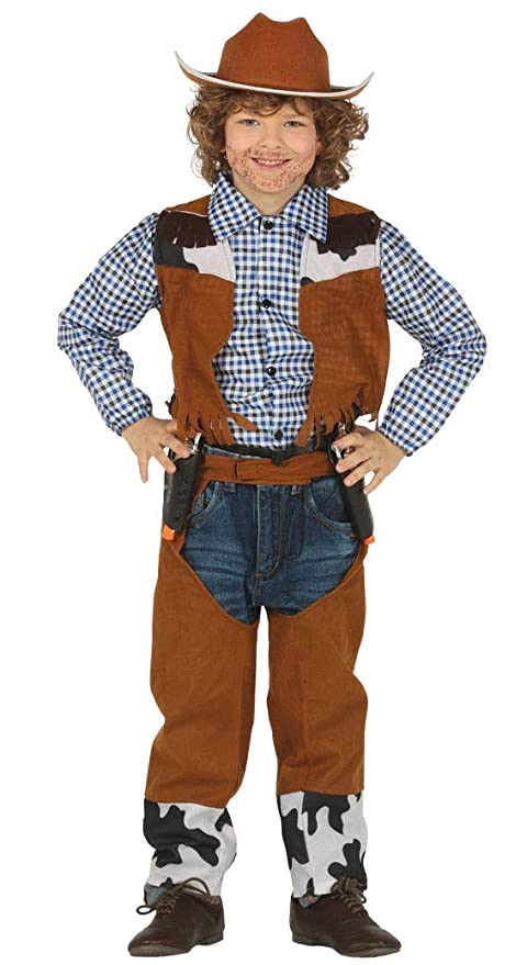 FIESTAS GUIRCA Disfraz Vaquero Vaquero Infantil: Amazon.es ...
